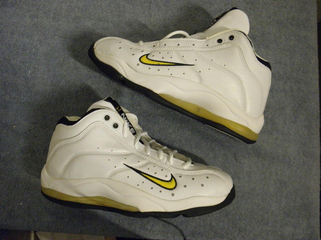 Nike air max zoom squadra maxzoom 1998 vintage originali og ds sz 12 pennino piede azione
