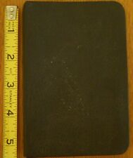 Vtg Elbe Small Binder Notebook 55 Inch X 35 Inch With Some Alphabet Tabs