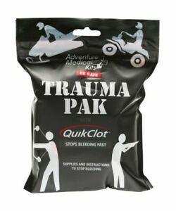 Adventure Medical Kits QuikClot Trauma First Aid Emergency Survival Pack Bandage