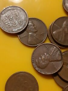 1 ROLL 50 coins - POPULAR 1953-S Lincoln Wheat Cents