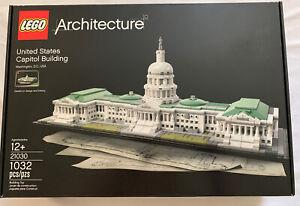 Lego Architecture United States Capitol Building Set 21030 Washington Dc Usa New 673419247047 Ebay