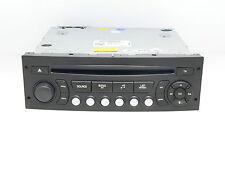 PSA PEUGEOT 207 CITROEN C2 RADIO CAR AUDIO AUTORADIO 98016070XT A2C37498600