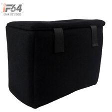 SLR Portable Camera Inner Partition Padded Protector Case Bag black