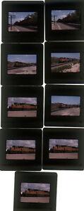 Nine-1999-kodachrome-Photo-slides-Union-Pacific-railroad-Train