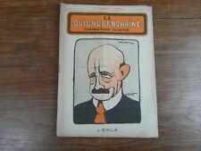 Revue LE GUIGNOL ENCHAINE PAMPHLETAIRE ILLUSTRE No 10 (25 Jul. 1922) J. CAILLAUX