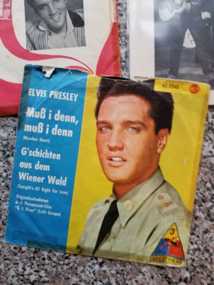 Single, ELVIS PRESLEY, In my fathers house - a mess og blues