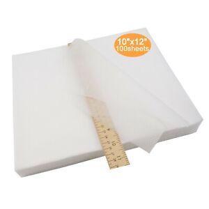 No-Show-Mesh-10-034-x12-034-Machine-Embroidery-Stabilizer-Backing-100-Precut-Sheets