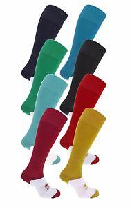 Yellow Blue Green Maroon Burgundy Navy Sky Blue or White Errea Football Socks