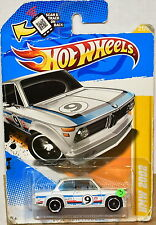 HOT WHEELS 2012 NEW MODELS BMW 2002 #21/50 WHITE BAD CARD