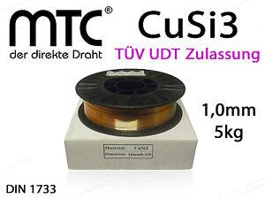 Loetdraht-CuSi3-Draht-1-0-mm-5Kg-Schweissdraht-D200-Spule-Rolle-2-1461-Mig-Loeten