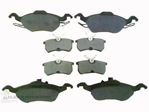 FORD-FOCUS-MK1-1-8-TDCi-1998-2004-FRONT-AND-REAR-BRAKE-DISC-PADS-NEW-SET