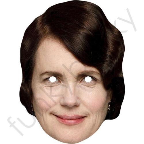 Elizabeth McGovern Cora Crawley Downton Abbey All Our Masks Are Pre-Cut!