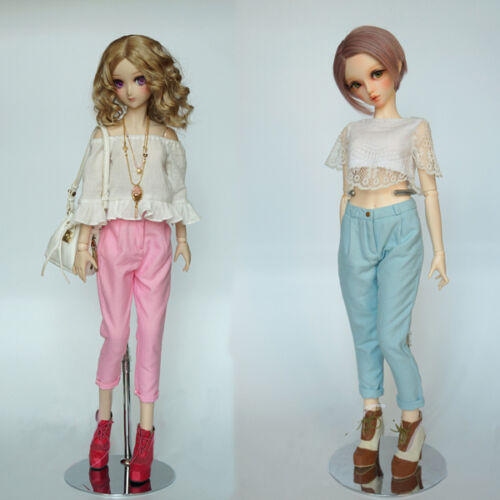 New Pink//Blue Fashion Sweet Haroun Pants For 1//3 SD DD BJD Doll Clothes//Outfit