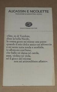 Aucassin e Nicolette - Einaudi, 1976 - Collana di poesia, 138