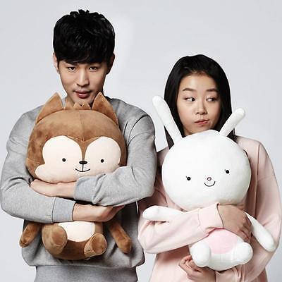 "15.5/""//40cm New Descendants of the Sun SongJoongKi Fox /& Rabbit Plush Toy"