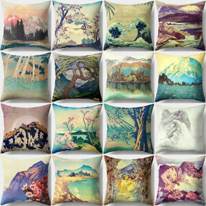 ITS-18-034-Tree-Mountain-Throw-Pillow-Case-Cushion-Cover-Car-Room-Sofa-Decor-Dazzl