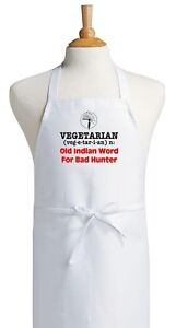 Funny-Chef-Apron-Vegetarian-Old-Indian-Word-Novelty-Bib-Aprons-by-CoolAprons