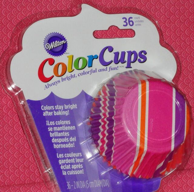 Colorful Flowers ColorCups Baking Cups 36ct from Wilton 2165 NEW
