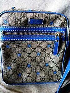 Gucci-Supreme-Stars-GG-Canvas-Blue-Messenger-Bag