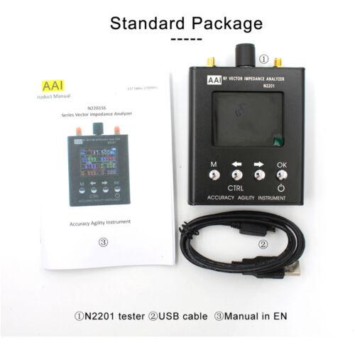 2700MHZ N2201SS UV RF Vector Impedance ANT SWR Antenna Analyzer Meter 137MHz