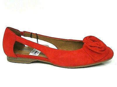 Tamaris Schuhe Pumps Ballerina Runa rot fire Leder Touch it 22106 22 686 | eBay