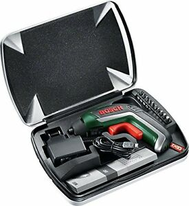 bosch ixo cordless screwdriver 10 screwdriver bits metal case bundle new ebay. Black Bedroom Furniture Sets. Home Design Ideas