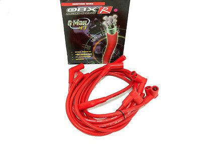 OBX Racing Red Spark Plug Wires for 1999-2000 Ford Mustang ...