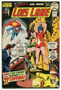 Lois-Lane-122-VF-8-5-DC-1972-Bondage-Cover-Rose-and-the-Thorn-Crossover