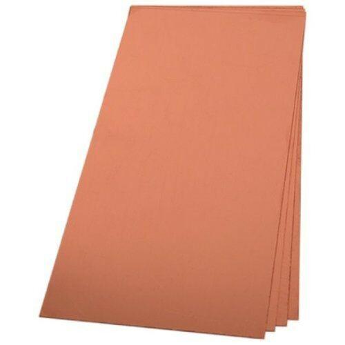 """Copper Sheet Metal 12/"""" x 12/"""" 12 x 12 Inch"""