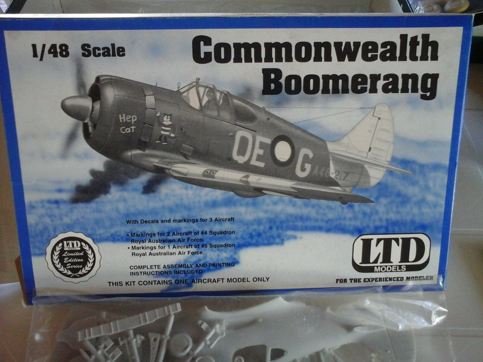 Commonwealth Boomerang 1 48 Scale LTD Model + Resin Part + Projection part