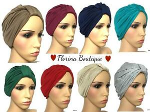 Fashionable-Turban-hats-underscarf-cap-hijab-lovely-stretchy-jersey-material