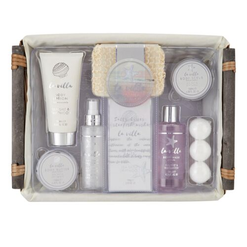 Ladies Cosmetic Pampering Gift Set Style and Grace Pamper Deluxe Hamper