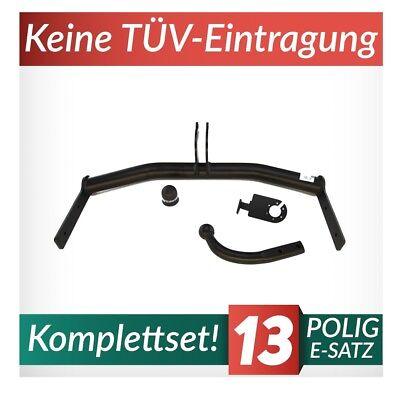 Volkswagen Lupo 3-Tür 98-05 Kpl Anhängerkupplung starr+E-Satz 7p