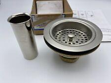 KOHLER K-8801-BN Duostrainer Sink Strainer Vibrant Brushed Nickel