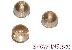 Glasperle-rund-8mm-20-Stueck-creme