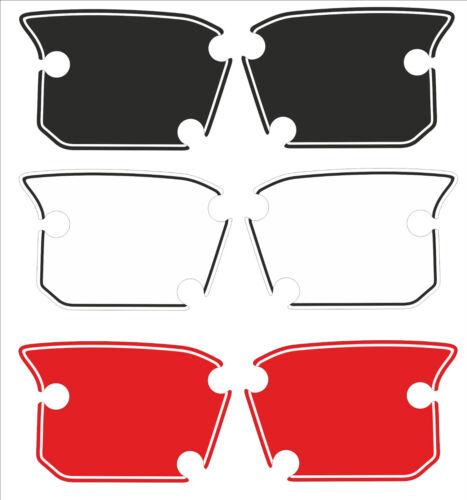 adesivi portanumeri Posteriori replica per Ducati Scrambler