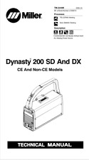 Miller Dynasty 200 Sd Amp Dx Effective With Lc339215 Service Manual