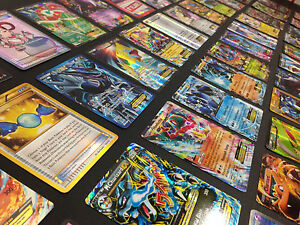 Pokemon-Card-Lot-100-OFFICIAL-TCG-Cards-Ultra-Rare-Included-GX-EX-MEGA-HOLOS
