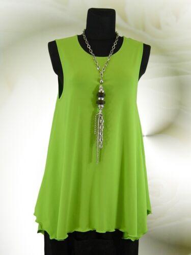 Lagenlook xl xxxl Design° xxl Long Poco Tunika L 44 58 Lemon Top Jersey Shirt 5Zgvq