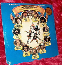 LP Factory Sealed OST Michele Legrand THE THREE MUSKETEERS Raquel Welch O Reed