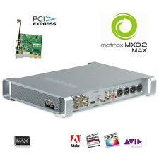Matrox MXO2 Max I/O-Box mit PCIe-Karte schneller Encoder H.264 MP4 HD-SDI HDMI