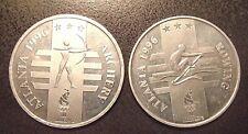 Two 1996 U.S.Olympic Team Atlanta Archery/Rowing General Mills Sponsor Aluminum