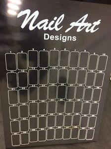 PROFESSIONAL-UV-GEL-ACRYLIC-FALSE-NAIL-ART-TIP-DISPLAY-BOARD-STAND-X60