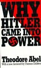 Why Hitler Came into Power by Theodore Abel, Thomas Childers (Paperback, 1986)