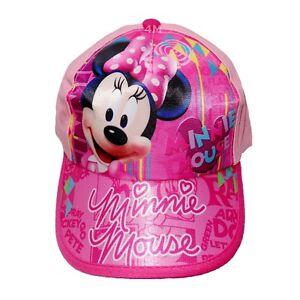 Minnie Mouse Cap Hat Summer Sun Disney Girls