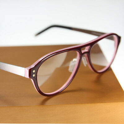 Red Pink Plastic glass Metal Frame eyeglass Nose pad 8389 silver ...