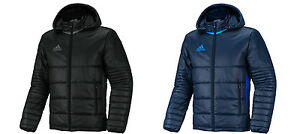 Details about Adidas Condivo 16 Padded Jacket AN9866 Down Winter Sports Coat Parka Navy Black