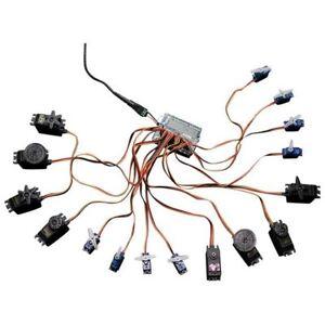 adafruit 16 channel 12 bit pwm servo shield i2c interface ada1411 Arduino Uno Circuit adafruit 16 channel 12 bit pwm servo shield