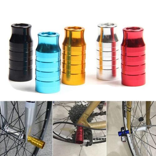 Mountain Road Bike Achse Vorderradnabe Fahrrad Licht Lampenfassung