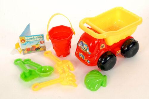 12 x Sand-LKW Sandspielzeug-Set 7tlg Strandspielzeug Lastwagen 22 cm Förmchen Spielzeug Spielzeug & Modellbau (Posten)
